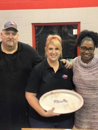 Mike & Tracee Neal, Owners ScooterZ BBQ & Boysville CEO Paula Tucker